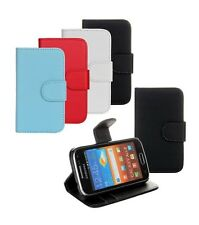 Stand Flip Wallet Leather Hard Card Case Cover For Samsung Galaxy Ace 2 i8160