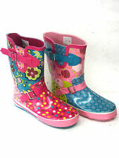 UNISEX WELLINGTON BOOTS X1024 PINK AND BLUE AND X1025 PINK FLOWERS