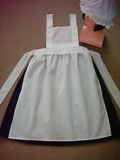 LADIES VICTORIAN TUDOR EDWARDIAN PARLOUR MAID 3PC FANCY DRESS COSTUME all sizes