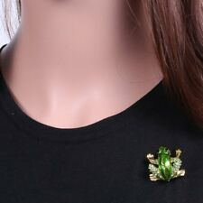 Mens Gifts Brooches Pins Rhinestone Crystal Enamel Animal Frog Party Jewelry