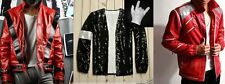 Michael Jackson Costume MJ Thriller/Beat it/Billie Jean Jacket Free Glove