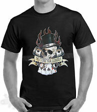 BIKER,TATTOO,ROCKABILLY,NO TIME FOR LOSERS,CARDS,T SHIRT,all sizes available