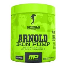 MusclePharm Arnold IRON PUMP Pre-Workout Nitric Oxide 30 Servings CHOOSE FLAVOR