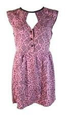 RUSTY New Ladies Womens Dress I OF THE TIGER Pink - Multi Sizes 8 10 12 14