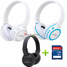 8GB SD + Zealot ZL-800 Sports Earphone Headset Headphone MP3 WMA Music Player
