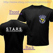 Rpd Stars s.t.a.r.s. Dep Racoon Police Resident Evil Game Logo T-Shirt