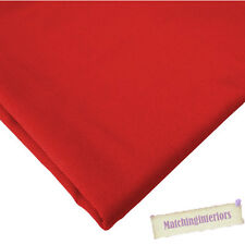 Red 100% Cotton Textiles Upholstery Fabric Material Ideal for Sofas Curtains