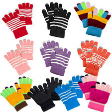 Men Women Magic Winter Touch Screen Gloves Smartphone Texting Stretch Knit Warm