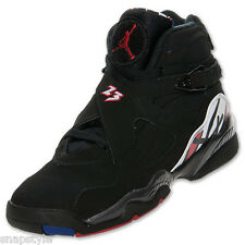 New AIR Jordan Retro 8 GS - Playoff 8s 2013 - Black/Varsity Red-White 305368 061