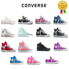 KIDS Converse All Star Hi Ox Canvas Trainers - FREE & FAST SHIPPING - COLOURS