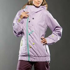 NEW Oakley Womens winter ski snowboard JACKET PURPLE  XS/XL
