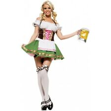 Beer Girl Costume Adult Sexy German Oktoberfest Maiden Halloween Fancy Dress