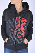 Famous Zip Hoodie Stars And Strapes Hooded Zipper Girls Woman Girly Moto X Blink