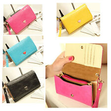 Women Envelope Wallet Bag Case Purse Samsung Galaxy S2 S3 Iphone 4 4S Phone