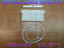 VERTICAL BLIND SPARES,FOR 89mm REPAIR KIT,HANGERS, BOTTOM WEIGHTS & CHAIN/SPARES