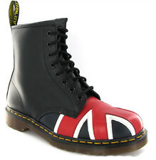 SALE!!! Dr Martens Unisex Union Jack 1460 Punk Skinhead Leather Genuine Boots