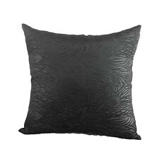 """Cushion Cover Chinese Brocade Case Gorgeous Peacock""""Black"""" Feather Motif cbs-40"""
