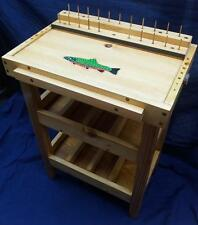 TROUT Patterns placards Fly Tying Tables Benches Desks