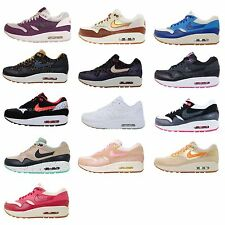 Nike Wmns Air Max 1 NSW Womens Running Shoes 90 Style 2013 Premium VNTG Pick 1