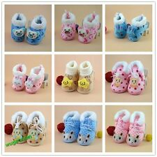 2014 New Pretty Newborn Soft  Warm Baby Toddler Winter Shoes 9 Styles 3 Sizes