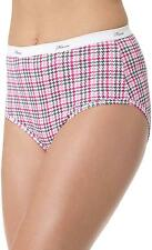 HANES Women's Plus Cotton Brief - 5 Pack - P540AD