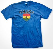Ghana Country Crest Flag Colors Nationality Ethnic Pride -Mens T-shirt