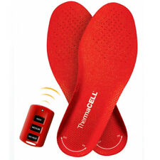 ThermaCell Heated Insoles Foot Warmer Wireless Rechargable Small Medium Large XX