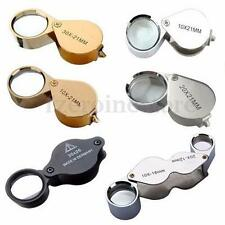 10x 20x 30x Magnifying Magnifier Glass Jewellers Eye Foldable Jewelry Loop Loupe