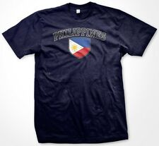 Philippines Country Crest Flag Colors Nationality Ethnic Pride -Mens T-shirt