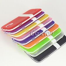 Gel TPU Silicone Case Skin Cover with Stand For Samsung Galaxy S4, SGH-i337