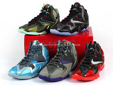 Nike LeBron 11 XI XDR Miami Heat Away 2013 Black/Univ​ersity Red 626374-001 LBJ