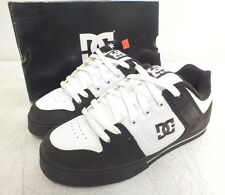 DC Shoe Company 'Pure' Dark Chocolate & White Skateboard Shoes NEW Fast Shipping