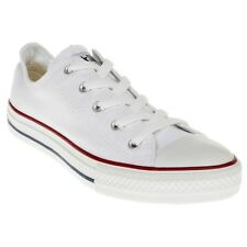 New Infants Converse White All Star Ox Canvas Trainers Lace Up