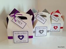 Personalised CHILDRENS WEDDING ACTIVITY BOX Gift Favour Book Pack Heart
