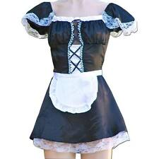 All Sizes Sexy French Maid Uniform Fancy Dress Costume Hen Party Halloween