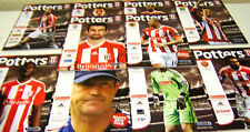 11/12 Stoke City Home Programmes v Your Choice
