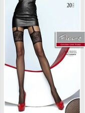Fiore Fiore Muriel Mock Stocking Tights, Garter Pantyhose