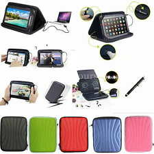 "Colorful Speaker Sounder PU Case+Stylus For 8"" vitalASC PRO-ST0812 Android Tab"