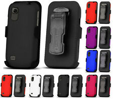 COVER CASE + BELT CLIP HOLSTER + SCREEN PROTECTOR AT&T ZTE AVAIL-2 Z992 PRELUDE
