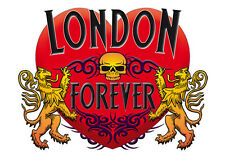 Brand NEW Printed T-SHIRT Quality LONDON Forever, All Sizes, All Colours