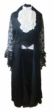 Gothic Victorian style womens outfit