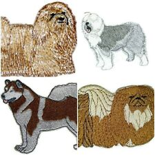 Beautiful Dog Embroidery Iron On Patches  Collection : ( M - R)