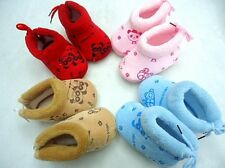 Clearance Sale Baby's Cute Panda Print Lace-Up Design Winter Soft Walking Shoes
