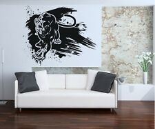 Vinyl Wall Decal Sticker Panther Paint Smear OS_AA664s 52W x 42H