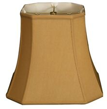 Square Cut Corner lamp shade (8, 12, 14, 15, 16, 17 in.) 8 colors, see descr.