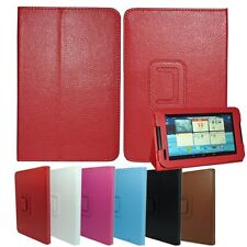 "PU Leather Stand Cover Case  Folio for Lenovo IdeaTab 7"" A1000 Tablet PC MID"