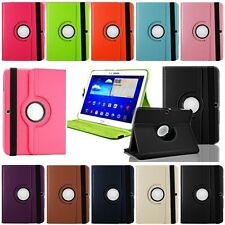 "SAMSUNG GALAXY TAB 3 10.1"" P5200 P5220 360° ROTATING ROTATE COVER CASE STAND"