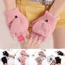 Fashion Women's Girl's Ladies Hand Wrist Warmer Winter Fingerless Work Gloves