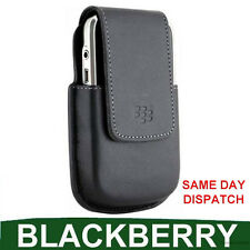 GENUINE Blackberry LEATHER CASE 9000 BOLD mobile pouch original cell phone cover