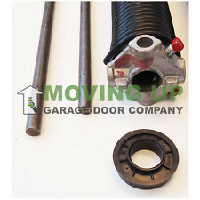 """Right Wind 218 X 2"""" X All Lengths Garage Door Torsion Spring w/ Winding Bars"""